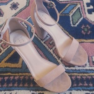 A New Day Suede Heels